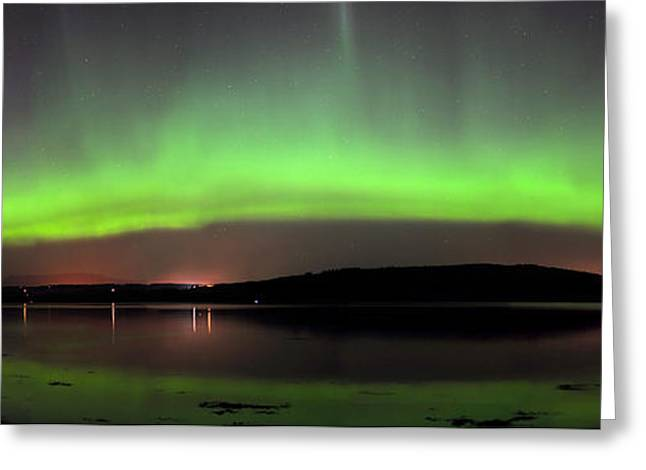 Greeting Card featuring the photograph   Northern Lights by Macrae Images