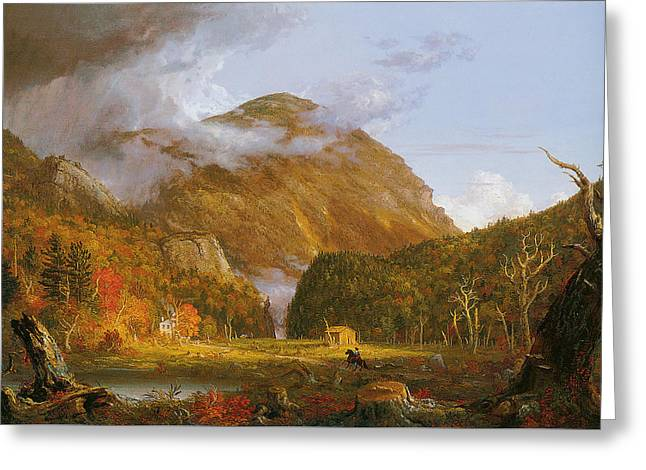 Notch Of The White Mountains  Greeting Card by Thomas Cole