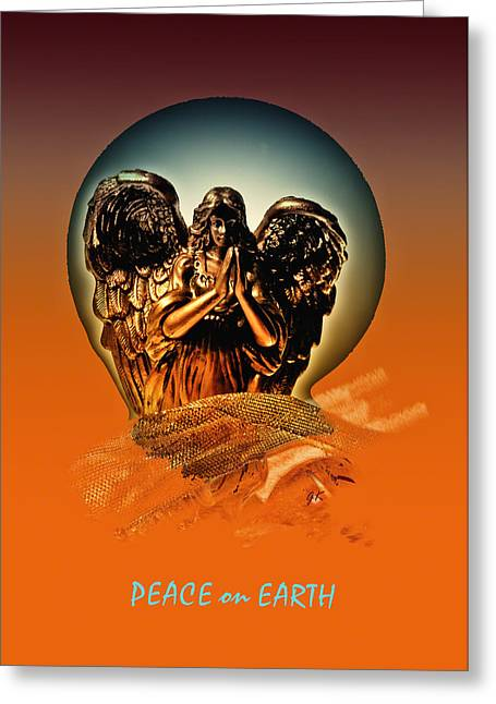 Gerlinde Keating Greeting Cards -  Peace on Earth Greeting Card by Gerlinde Keating - Keating Associates Inc