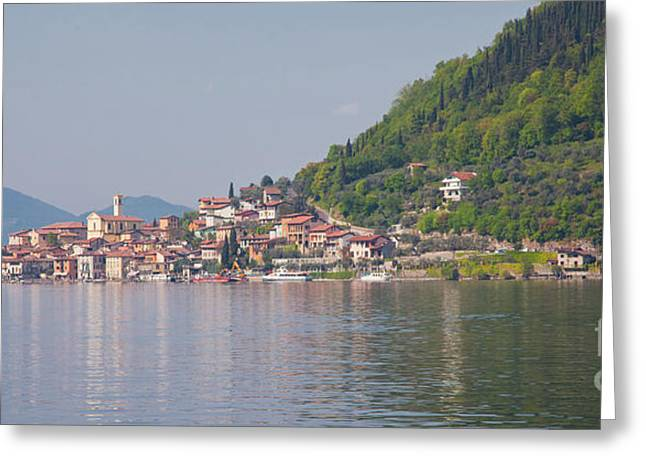 Peschiera Maraglio Greeting Card by Gabriela Insuratelu