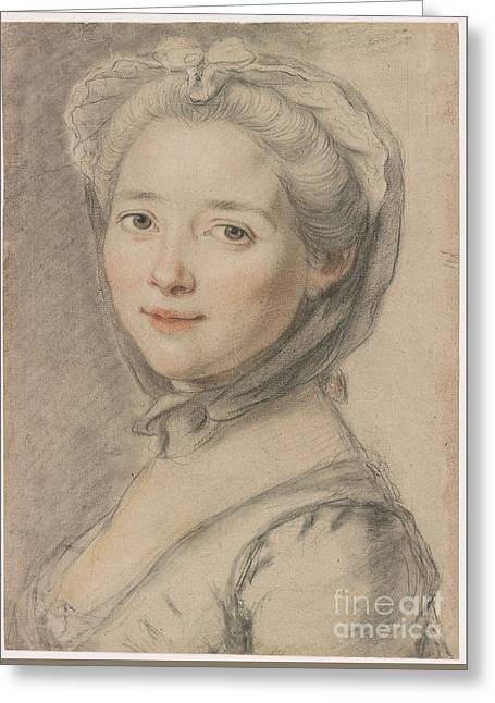 Portrait Of The Artist's Wife Greeting Card by Celestial Images