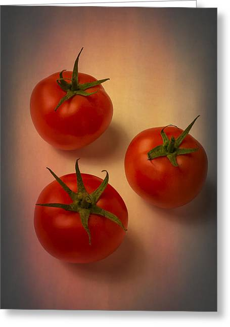 Red Tomatoes Greeting Card