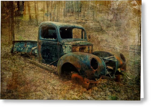 Resurrection Vintage Truck Greeting Card