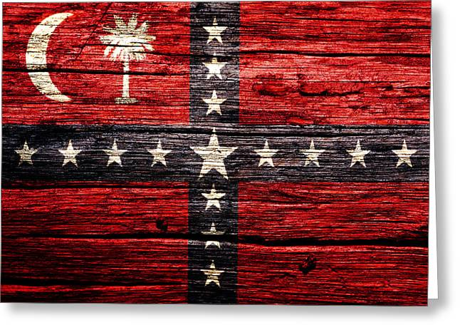 South Carolina Sovereignty Secession Flag 4w Greeting Card