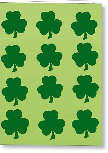 St. Patrick's Day  Greeting Card by Art Spectrum