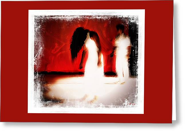 Stop Violence Against Women 4 Greeting Card
