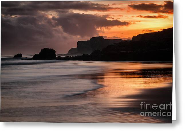 Sunrise At Sandhaven Greeting Card by Ray Pritchard