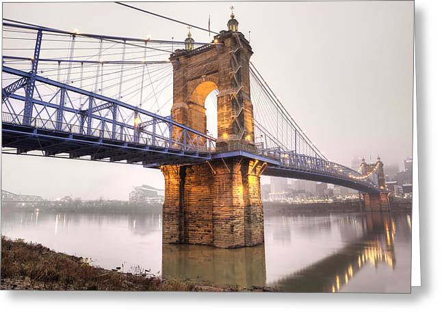 The Roebling Bridge Greeting Card