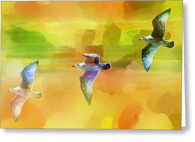 The Seagulls 1 Greeting Card