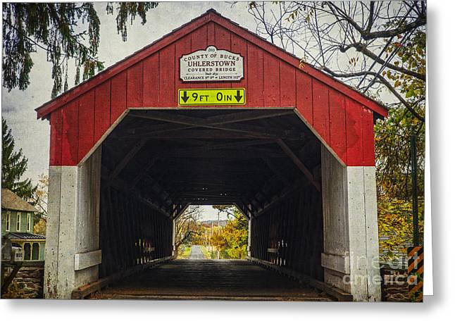 Uhlerstown Covered Bridge Iv Greeting Card