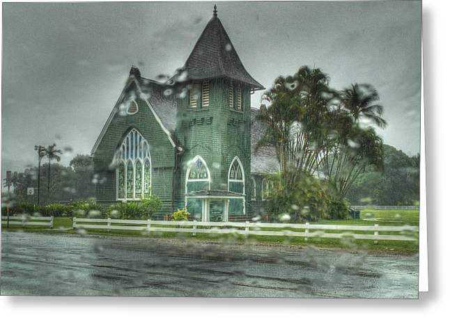 Waioli Huiia Church Kauai  Greeting Card by Joe  Palermo
