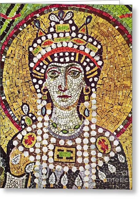 Theodora (c508-548) Greeting Card