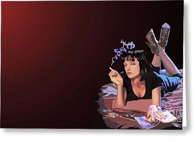001. Now I Wanna Dance Greeting Card by Tam Hazlewood