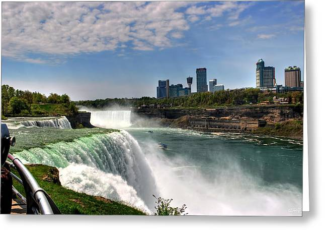 004 Niagara Falls  Greeting Card