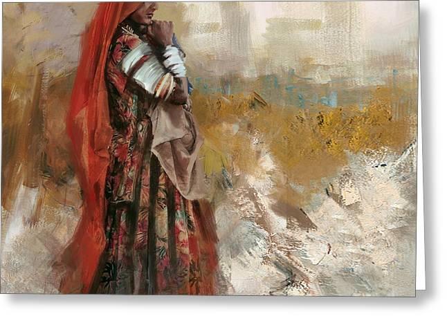 007 Sindh Greeting Card by Mahnoor Shah