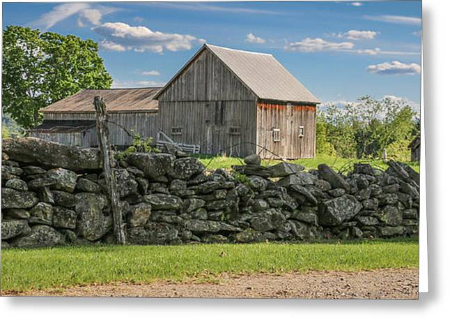 #0079 - Robert's Barn, New Hampshire Greeting Card