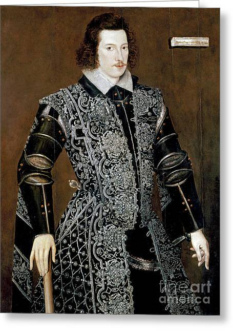 Sir Robert Devereux Greeting Card by Granger