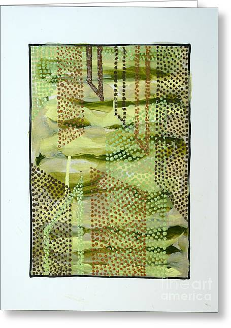 01328 Slide Greeting Card by AnneKarin Glass