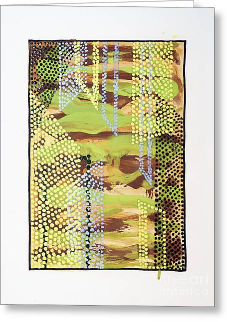 01329 Slip Greeting Card by AnneKarin Glass