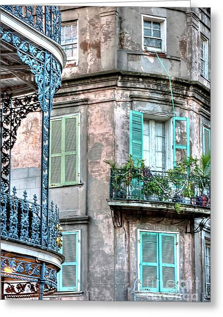 0254 French Quarter 10 - New Orleans Greeting Card