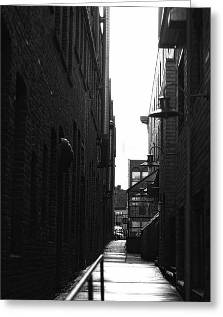 Alleyway Greeting Card by Marilyn Wilson