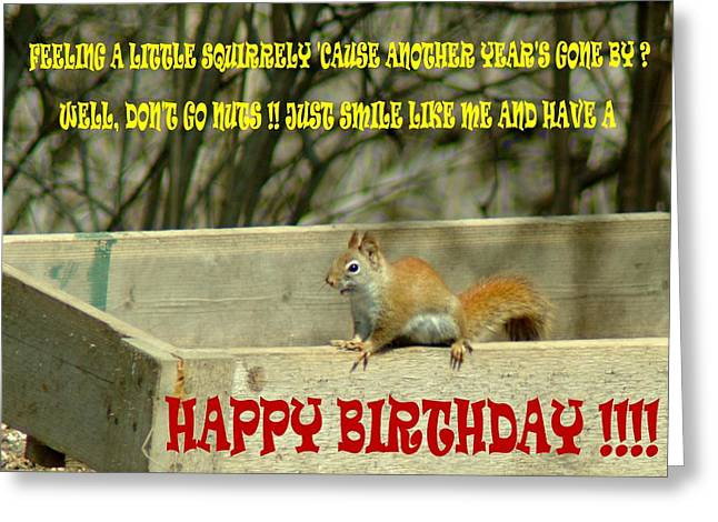 032309-68  Birthday Card Greeting Card by Mike Davis