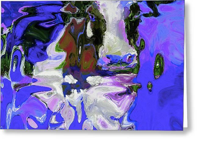0359 By Nixo Greeting Card
