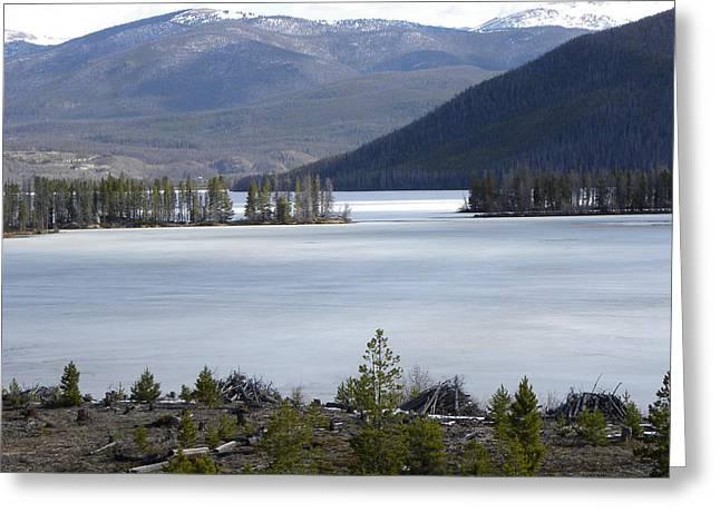 Granby Lake Rmnp Greeting Card