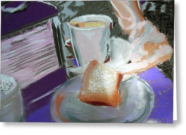 040517 Beni Gets And Coffee Greeting Card