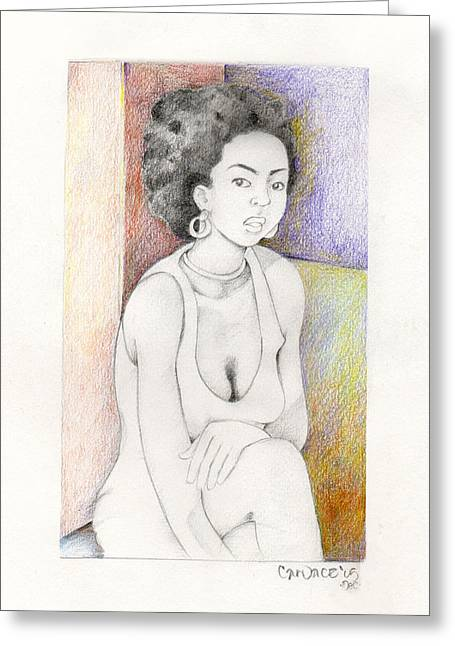 055 Greeting Card by Candace Williams