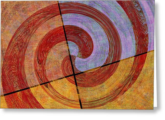 0581 Abstract Thought Greeting Card