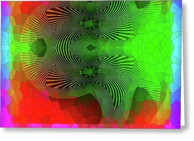 #061120172 Greeting Card by Visual Artist Frank Bonilla