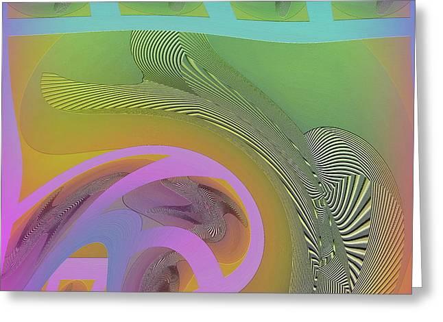 #061220173 Greeting Card by Visual Artist Frank Bonilla