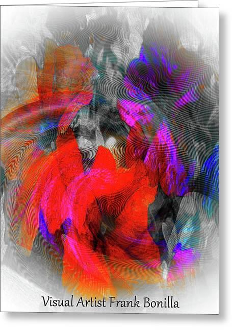 #062320172 Greeting Card by Visual Artist Frank Bonilla