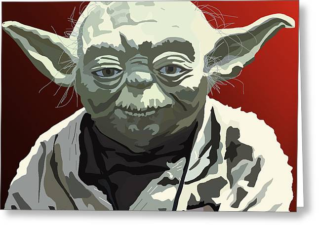 068. Do Or Do Not. There Is No Try Greeting Card