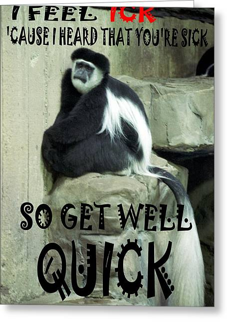 071906-3  Child Get Well Card Greeting Card by Mike Davis