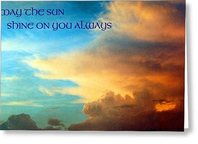 Mike Davis - Micks Pix Photos Greeting Cards - 072006-14ebhrf  Good Wishes Card Greeting Card by Mike Davis - Micks Pix Photos