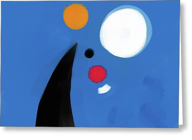080903ba Greeting Card by Toshio Sugawara