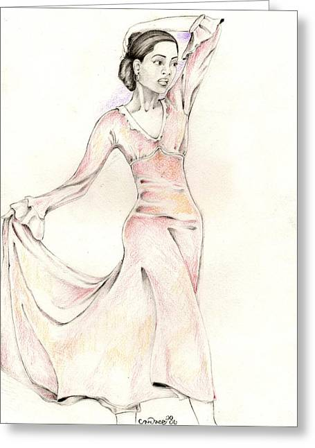 099 Greeting Card by Candace Williams