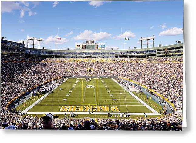 0991 Lambeau Field Greeting Card