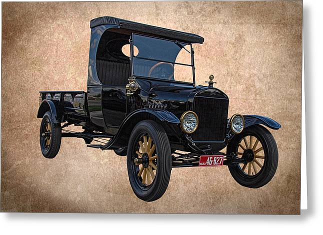 1923 Ford Model T Truck Greeting Card