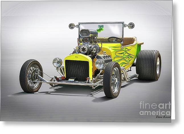 1923 Ford Model T Roadster Pickup Greeting Card