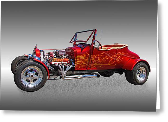 1927 Ford Hot Rod Greeting Card