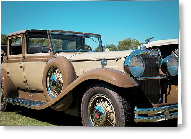 1931 Packard Deluxe Eight Greeting Card by Jack R Perry