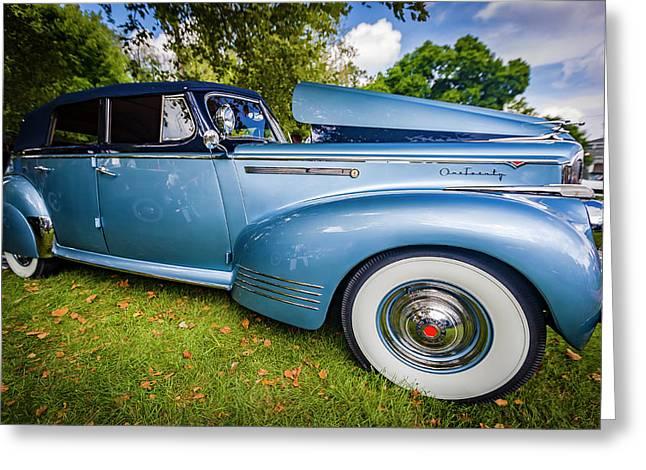 1941 Packard 120 Convertable Sedan Greeting Card by Jack R Perry