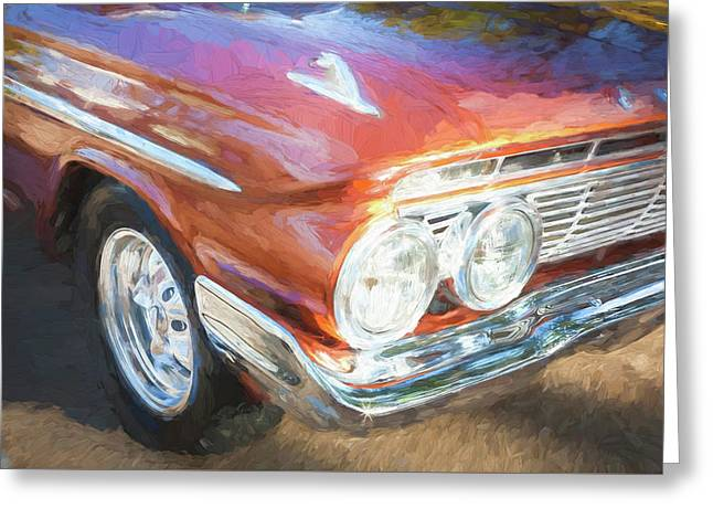 1961 Chevrolet Impala Ss  Greeting Card by Rich Franco