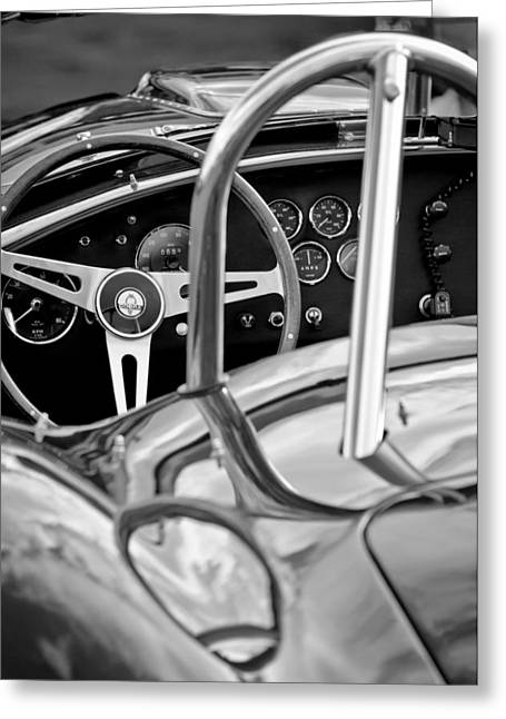 1966 Shelby 427 Cobra Greeting Card by Jill Reger