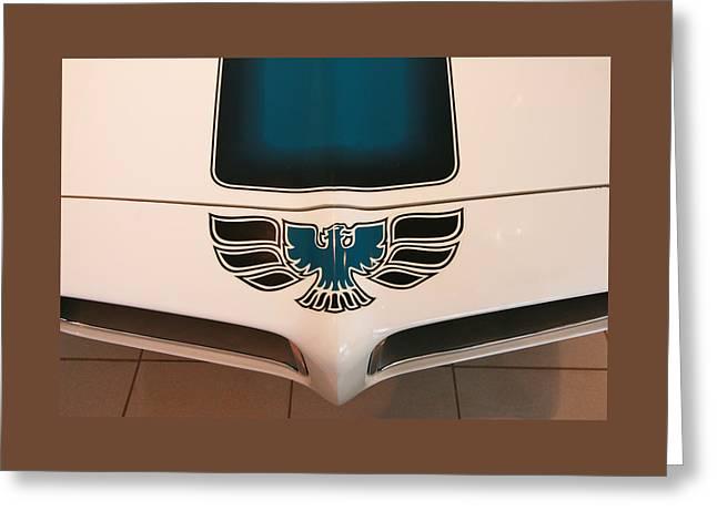 1971 Pontiac Trans-am Greeting Card by Allen Beatty