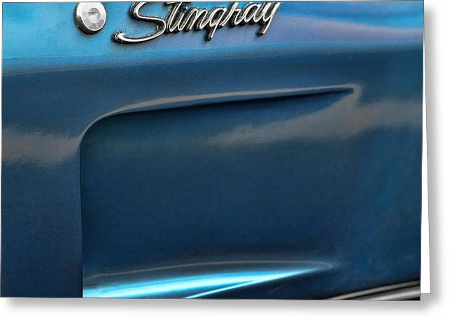 1973 Chevrolet Corvette Stingray Greeting Card by Gordon Dean II