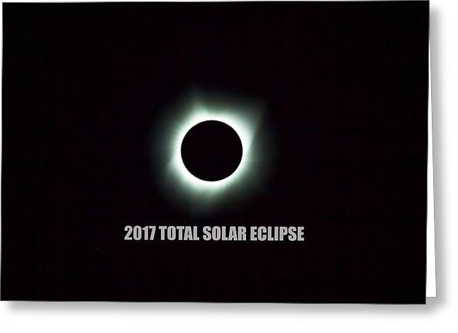 2017 Total Solar Eclipse Greeting Card
